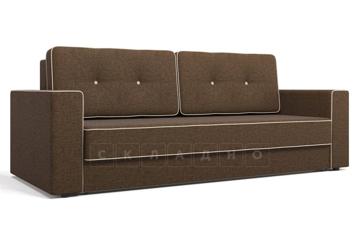 Диван Орландо коричневый фото 1 | интернет-магазин Складно