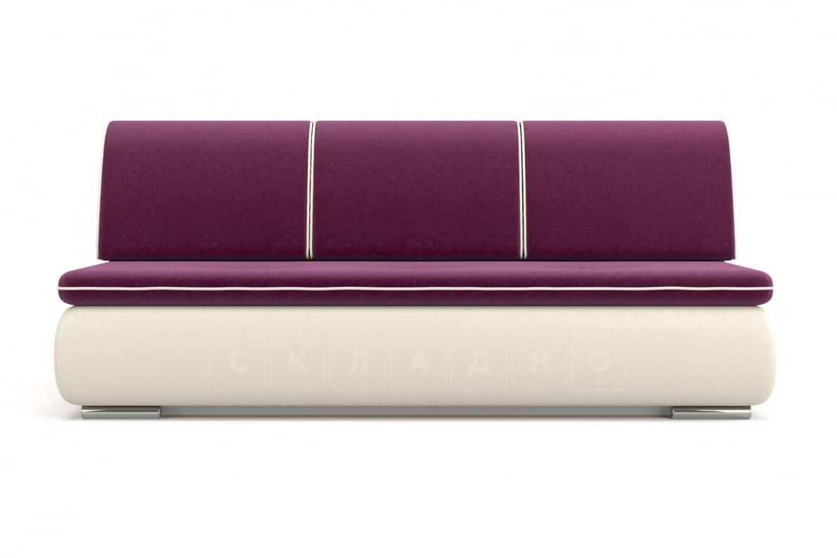 Диван еврокнижка Палмерстон пурпурно-белый фото 2 | интернет-магазин Складно