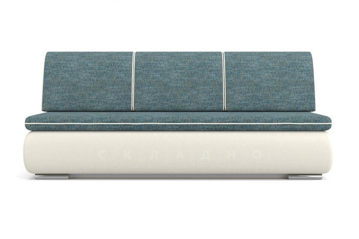 Диван еврокнижка Палмерстон сине-белый фото 2 | интернет-магазин Складно