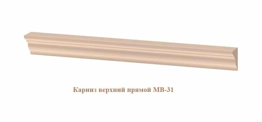 Кухонный навесной шкаф со стеклом Массив 60см МВ-65в с одной дверцей фото 6 | интернет-магазин Складно