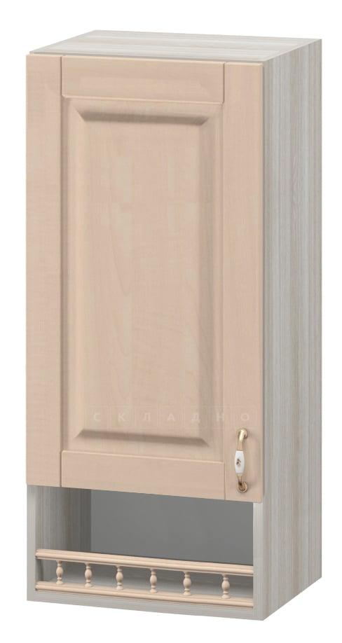 Кухонный навесной шкаф Массив 30см МВ-1 с одной дверцей и нишей фото 1 | интернет-магазин Складно