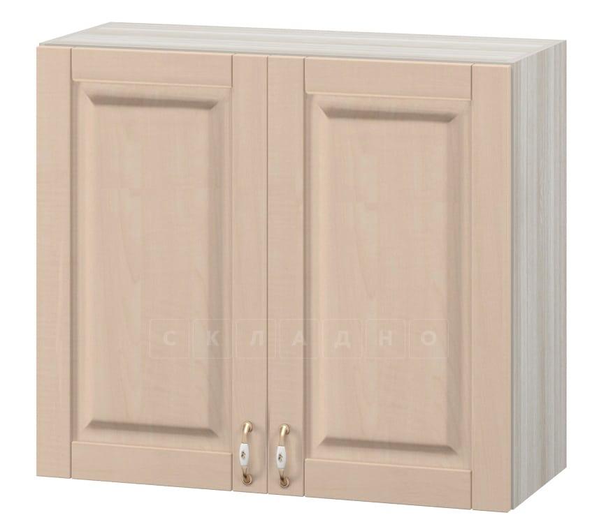 Кухонный навесной шкаф Массив 80см МВ-27 фото 1 | интернет-магазин Складно