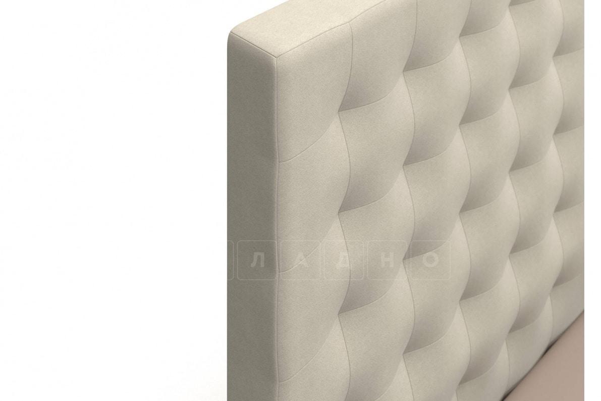 Кровать Парадиз бежевого цвета два раздельных матраса блок независимых пружин фото 6 | интернет-магазин Складно
