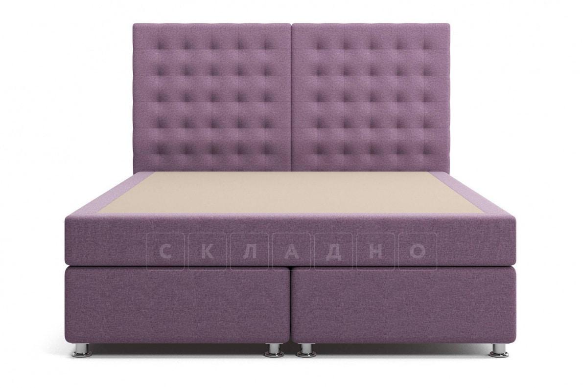 Кровать Парадиз сиреневого цвета единый матрас блок Боннель фото 2 | интернет-магазин Складно