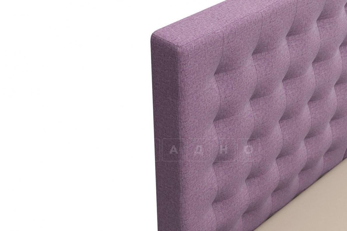 Кровать Парадиз сиреневого цвета единый матрас блок Боннель фото 5 | интернет-магазин Складно