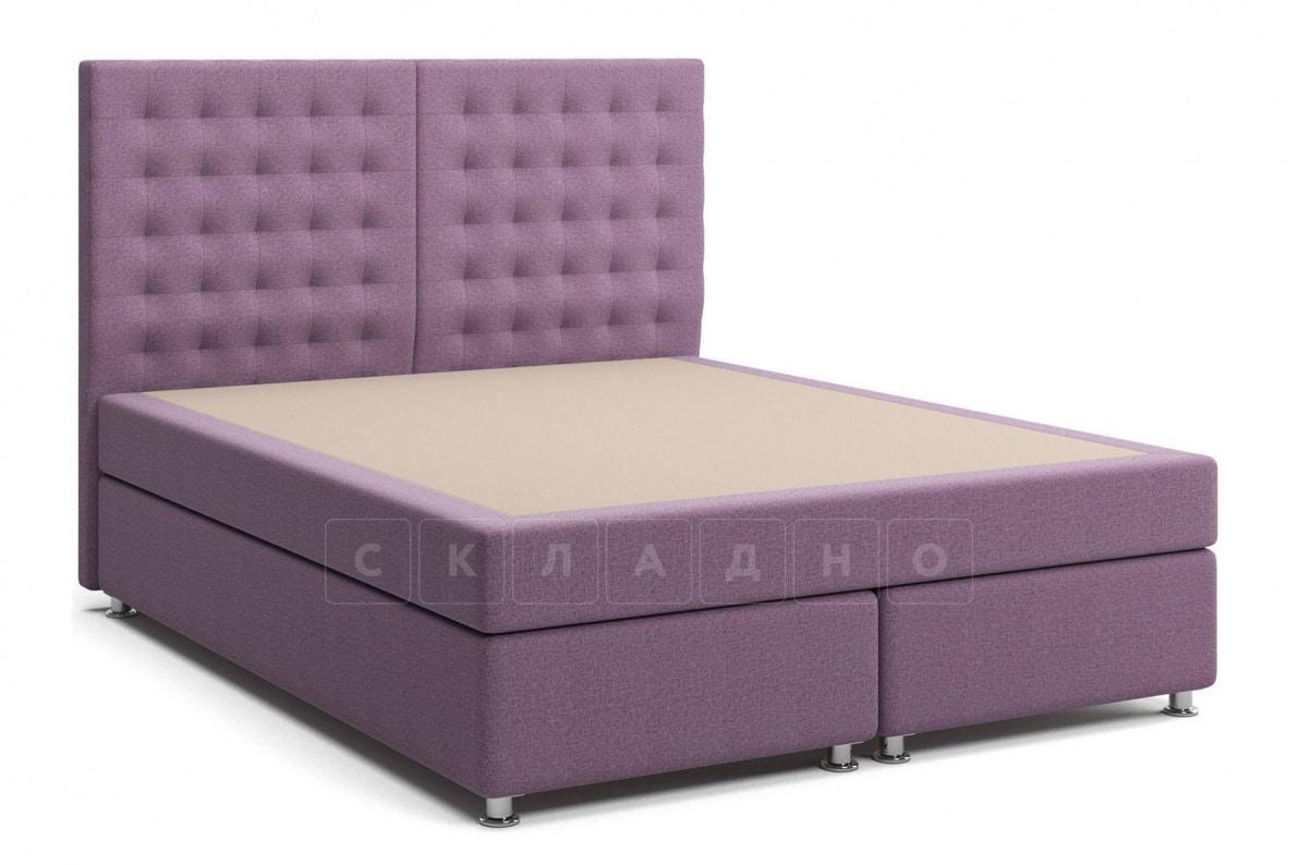 Кровать Парадиз сиреневого цвета единый матрас блок Боннель фото 1 | интернет-магазин Складно