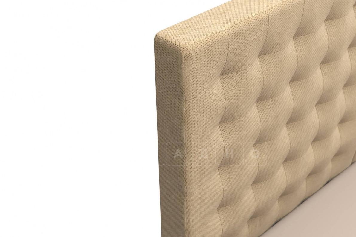 Кровать Парадиз темно-бежевого цвета единый матрас блок Боннель фото 5 | интернет-магазин Складно