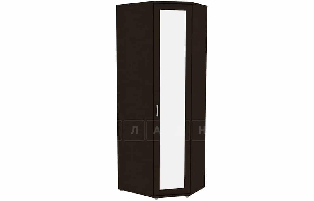 Угловой шкаф несимметричный 537-02 с зеркалом фото 5 | интернет-магазин Складно