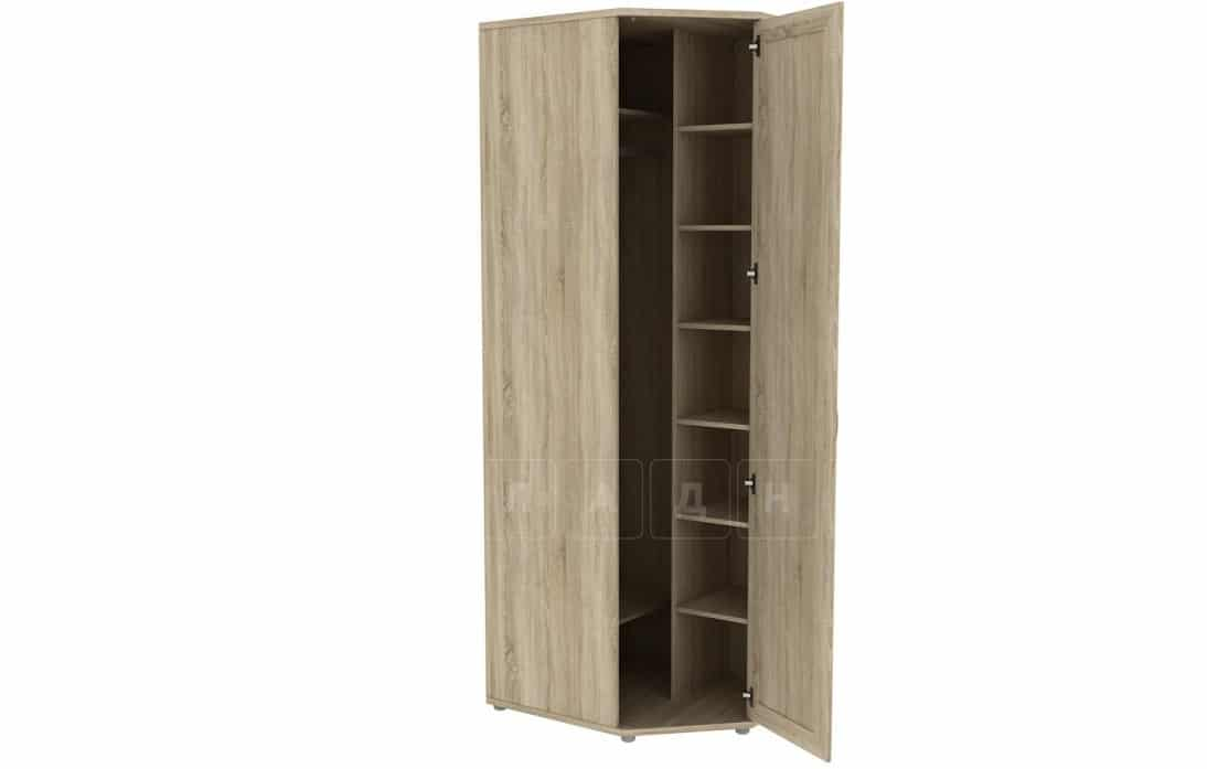 Угловой шкаф несимметричный 537-02 с зеркалом фото 2 | интернет-магазин Складно