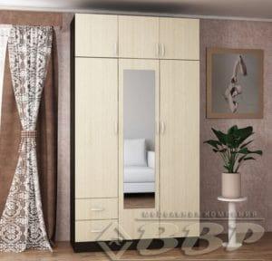 Шкаф распашной Дон с 2-я ящиками  9310  рублей, фото 1 | интернет-магазин Складно