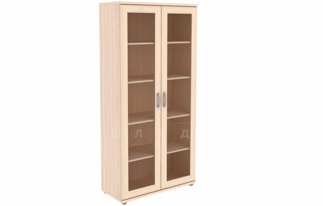 Книжный шкаф 402-02 молочный дуб фото 1 | интернет-магазин Складно
