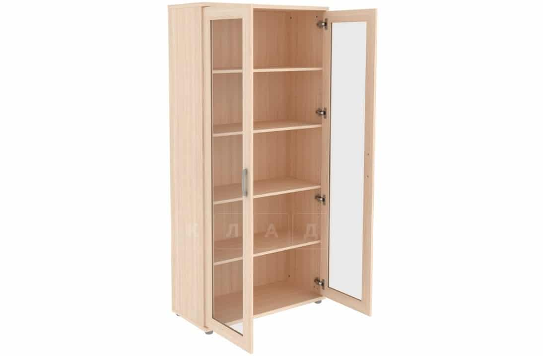 Книжный шкаф 402-02 молочный дуб фото 2 | интернет-магазин Складно