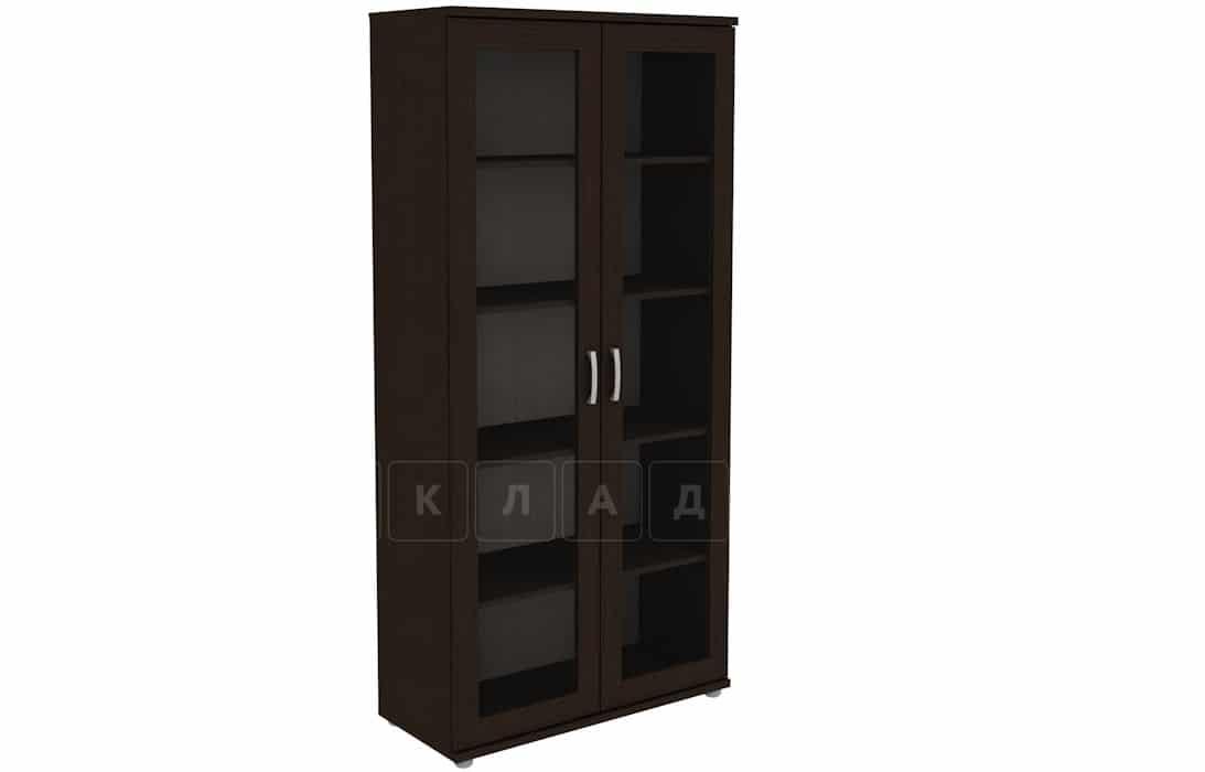 Книжный шкаф 402-02 венге фото 1 | интернет-магазин Складно