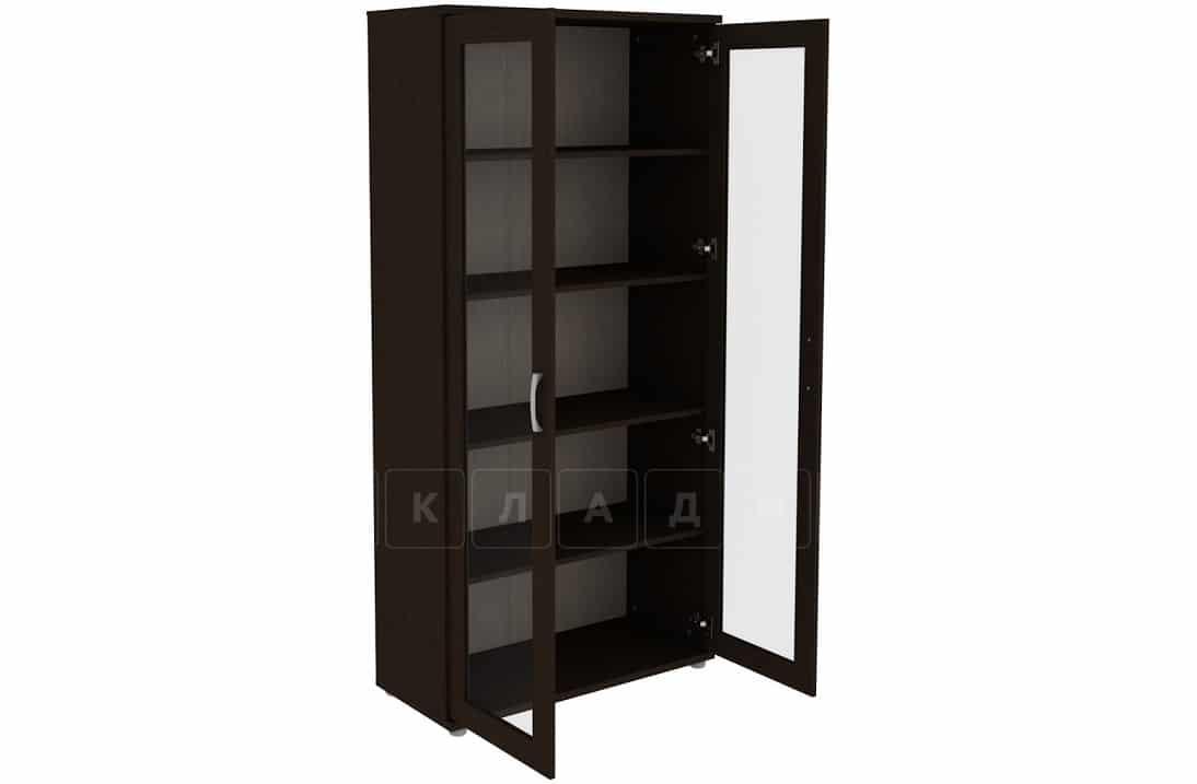 Книжный шкаф 402-02 венге фото 2 | интернет-магазин Складно