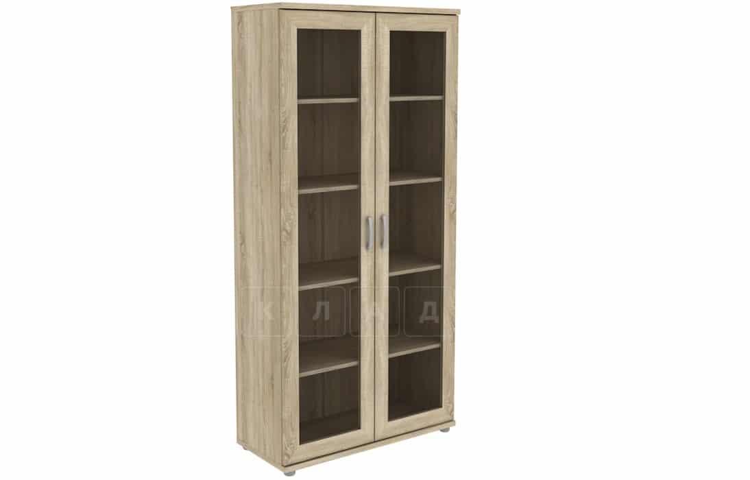 Книжный шкаф 402-02 дуб сонома фото 1 | интернет-магазин Складно