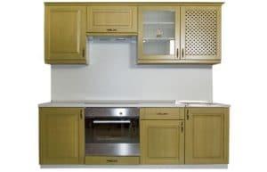 Кухонный гарнитур Массив-Люкс 1500 фото | интернет-магазин Складно