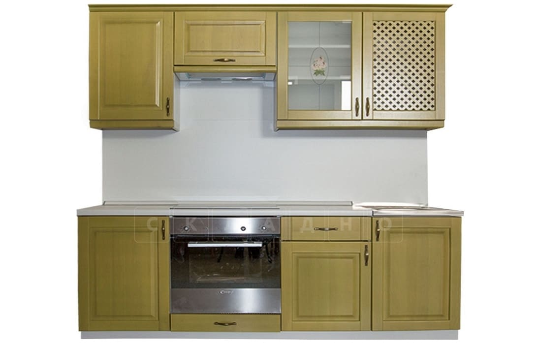 Кухонный гарнитур Массив-Люкс 1500 фото 1 | интернет-магазин Складно