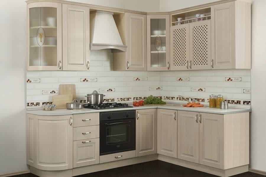 Кухня угловая Массив-Люкс 1735х1800 фото | интернет-магазин Складно