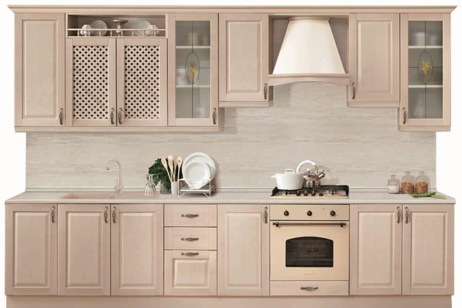 Кухонный гарнитур Массив-Люкс 2800 фото | интернет-магазин Складно