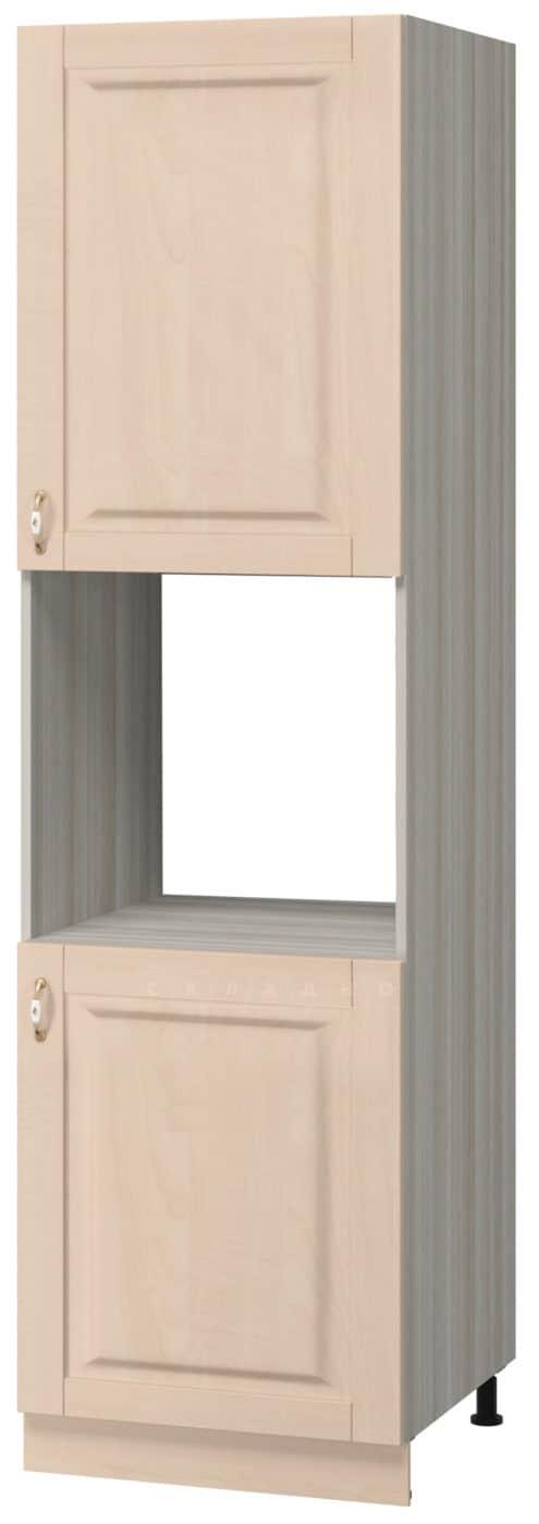 Кухонный напольный пенал под духовой шкаф Массив 60см МН-54 фото 1 | интернет-магазин Складно