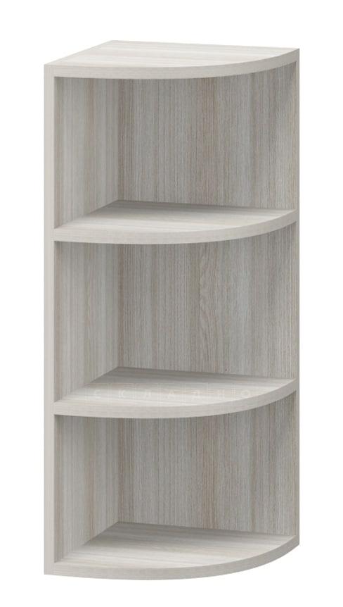 Кухонный навесной шкаф торцевой открытый Массив МВ-28 фото 1 | интернет-магазин Складно