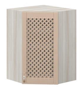 Кухонный навесной шкаф угловой с решеткой Массив МВ-59 10880 рублей, фото 1 | интернет-магазин Складно