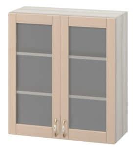 Кухонный навесной шкаф со стеклом Массив 60см МВ-62в с двумя дверцами  6950  рублей, фото 1   интернет-магазин Складно