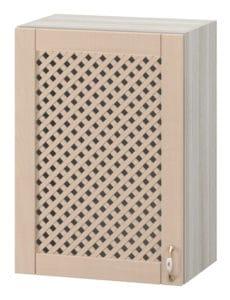 Кухонный навесной шкаф с решеткой Массив 50см МВ-64 9570 рублей, фото 1 | интернет-магазин Складно