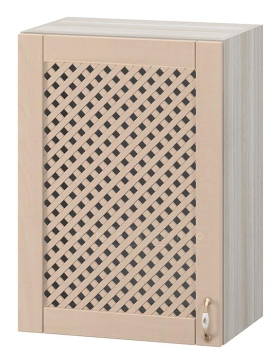 Кухонный навесной шкаф с решеткой Массив 50см МВ-64 фото 1 | интернет-магазин Складно