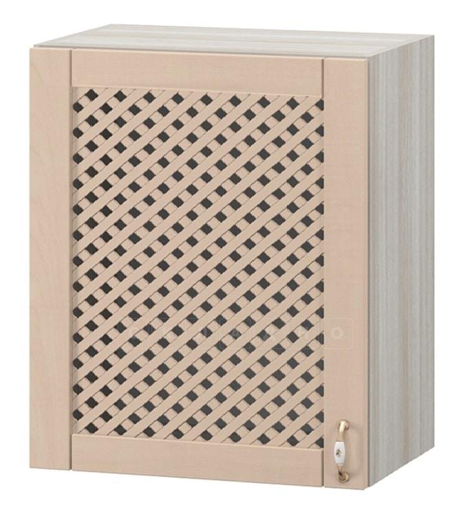 Кухонный навесной шкаф с решеткой Массив 60см МВ-67 фото 1 | интернет-магазин Складно