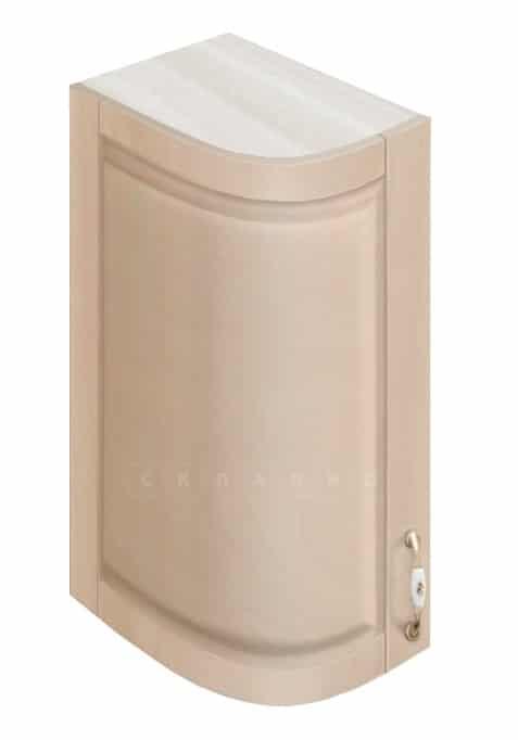Кухонный навесной шкаф гнутый модерн Массив 23см МВ-72 левый фото 1 | интернет-магазин Складно