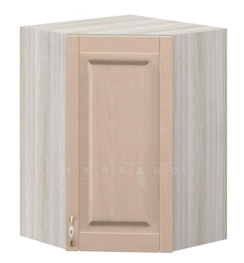 Кухонный навесной шкаф угловой Массив МВ-8 фото 1 | интернет-магазин Складно