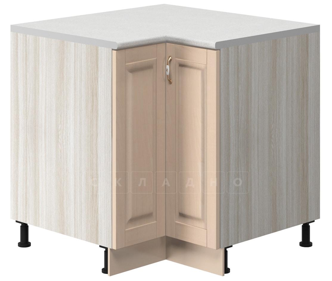 Кухонный шкаф напольный угловой Массив МН-18 фото 1 | интернет-магазин Складно