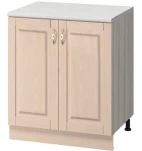 Кухонный шкаф напольный Массив 60см МН-19 с двумя дверцами  7750  рублей, фото 1 | интернет-магазин Складно