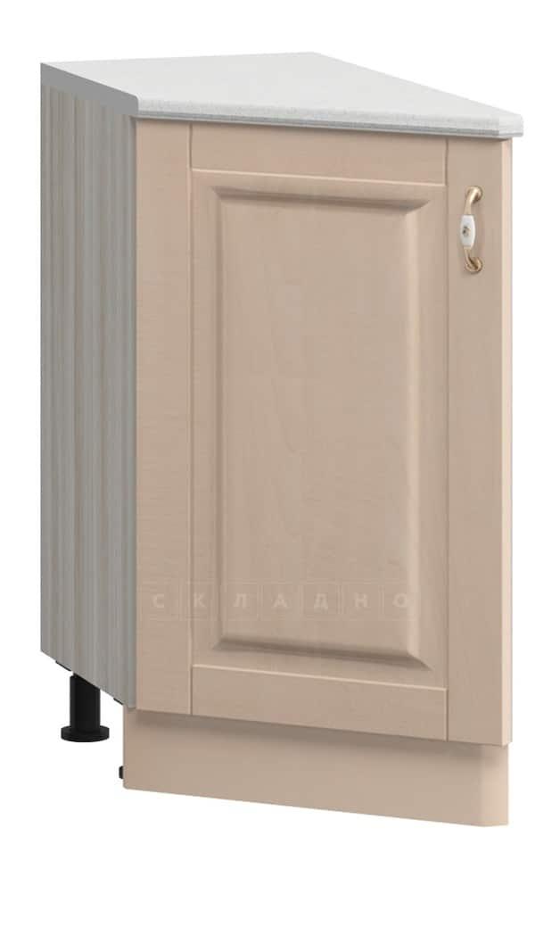 Кухонный шкаф напольный торцевой прямой Массив МН-20 левый фото 1 | интернет-магазин Складно