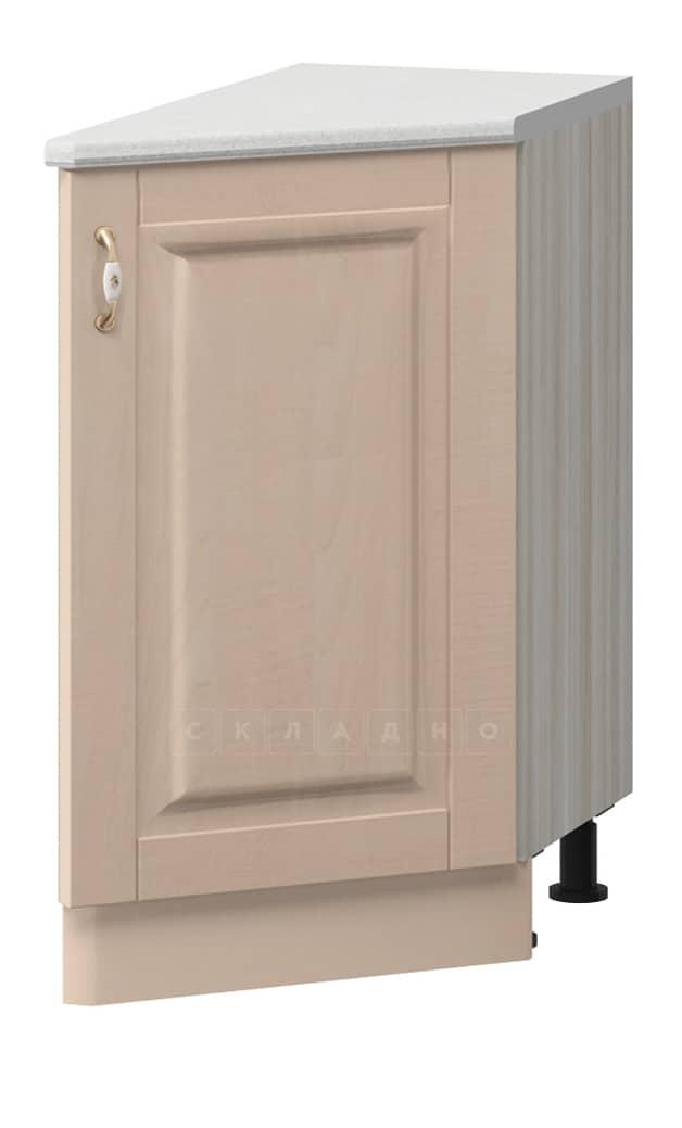 Кухонный шкаф напольный торцевой прямой Массив МН-20 правый фото 1 | интернет-магазин Складно