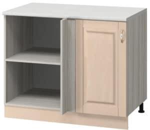 Кухонный шкаф напольный угловой Массив 100см МН-41 фото | интернет-магазин Складно