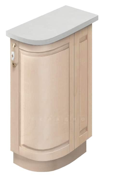 Кухонный шкаф напольный торцевой гнутый модерн Массив МН-75 правый фото 1 | интернет-магазин Складно