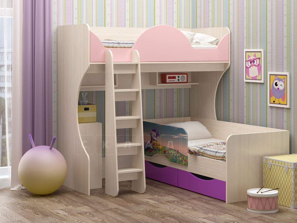 Детская кровать Бемби-10 фото 2 | интернет-магазин Складно