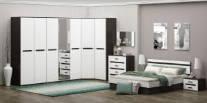 Спальный гарнитур Карина-9 мдф 57790 рублей, фото 1 | интернет-магазин Складно