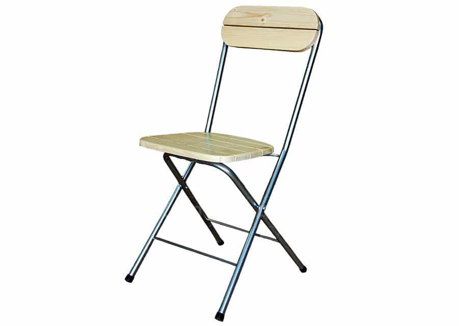 Складной стул Рейка массив фото 1 | интернет-магазин Складно