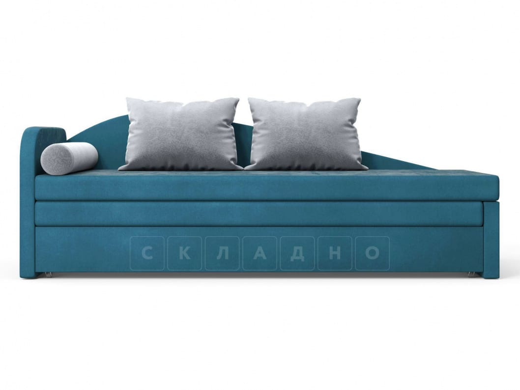 Диван софа Верди синий левый фото 2 | интернет-магазин Складно