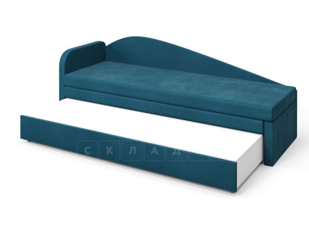 Диван софа Верди синий левый фото 4 | интернет-магазин Складно