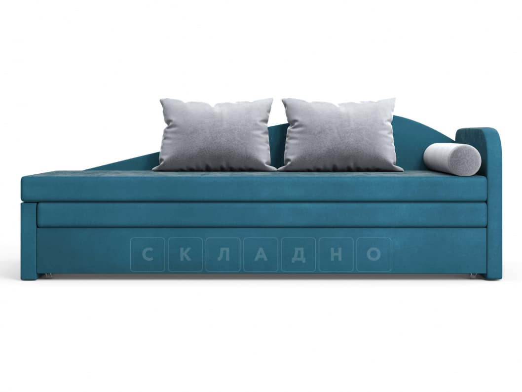 Диван софа Верди синий правый фото 2 | интернет-магазин Складно