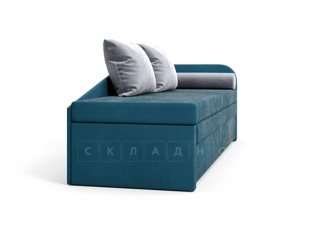 Диван софа Верди синий правый фото 3 | интернет-магазин Складно