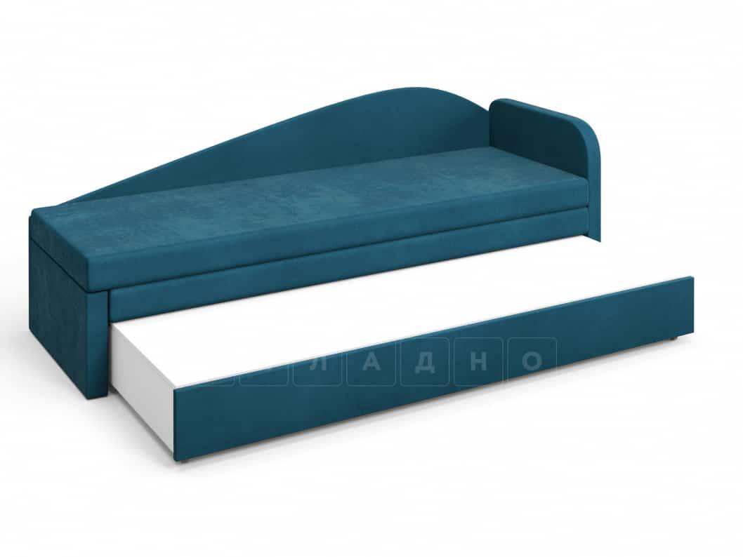 Диван софа Верди синий правый фото 4 | интернет-магазин Складно