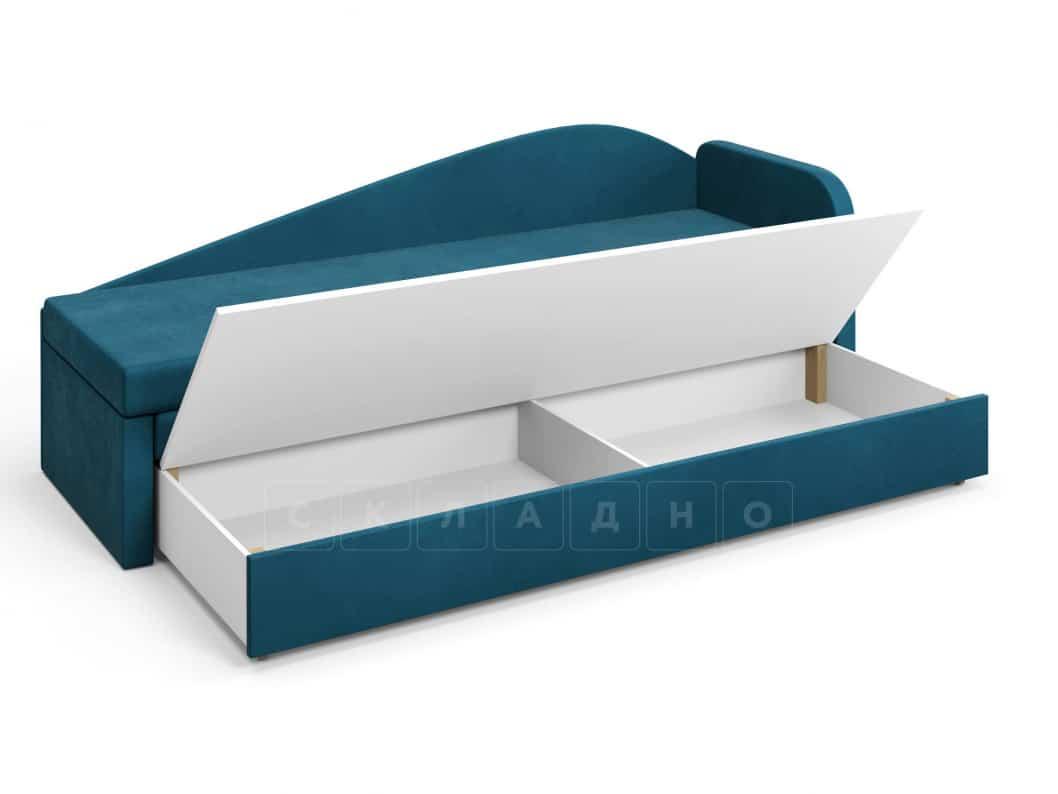 Диван софа Верди синий правый фото 5 | интернет-магазин Складно
