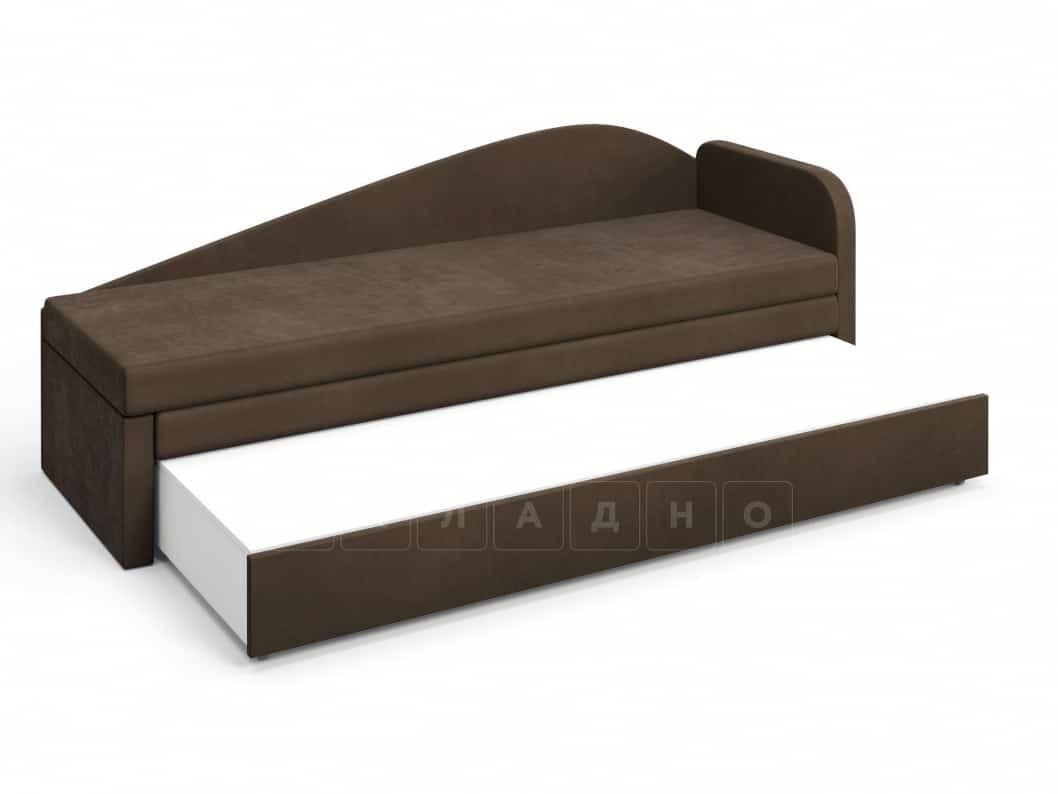 Диван софа Верди коричневый правый фото 4 | интернет-магазин Складно