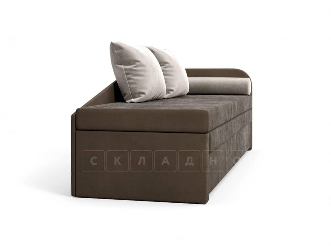 Диван софа Верди коричневый правый фото 3 | интернет-магазин Складно