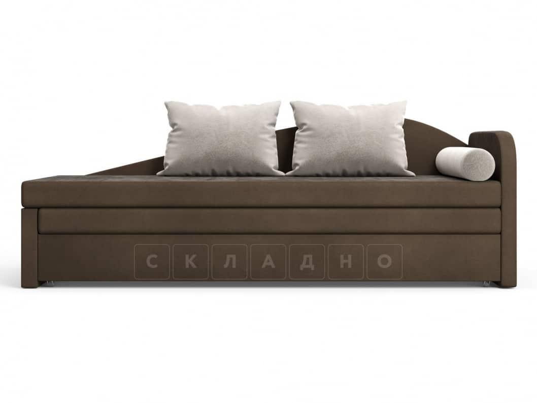 Диван софа Верди коричневый правый фото 2 | интернет-магазин Складно